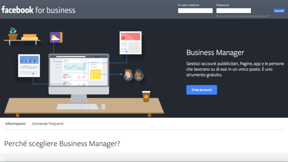 facebook business 01 Facebook Business: come creare due account facebook ads
