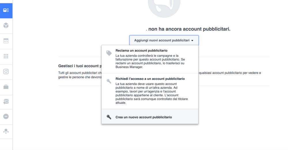 facebook business 07 Facebook Business: come creare due account facebook ads
